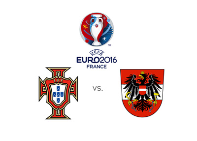 EURO 21016 game featuring Portugal and Austria - Group stage