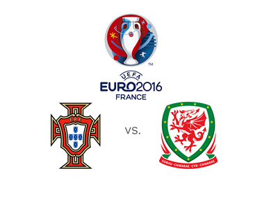Portugal vs. Wales - EURO 2016 match.  Stats, preview and odds to win