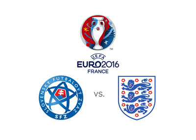Euro 2016 matchup - Slovakia vs. England - Odds and preview - National team logos / crests
