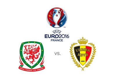 EURO 2016 - Wales vs. Belgium - Matchup and odds - Quarter Finals