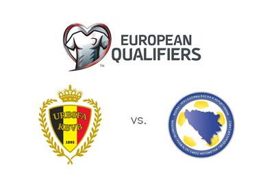 Euro 2016 qualifiers - Belgium vs. Bosnia Herzegovina - Matchup, odds and team logos