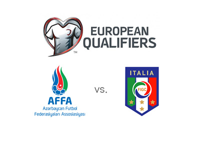 Azerbaijan vs. Italy - Euro Cup 2016 Qualifiers - Matchup, preview, odds and team badges
