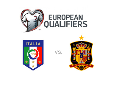World Cup qualifiers - Europe - Italy vs. Spain - October 2016