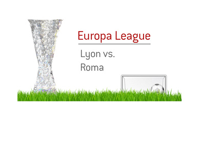 The Europa League matchup between Lyon and Roma.  The year is 2017.