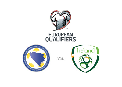 Qualifiers for EURO 2016 - Bosnia and Herzegovina vs. Ireland - Preview, odds and logos