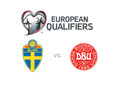 Euro Cup 2016 qualifiers - Sweden vs. Denmark - Matchup, preview and national team logos