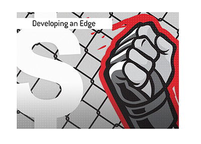 Tips for developing and edge in the game of sports betting.