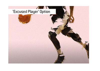 Excused Player option is available to professional players playing in North America this summer.