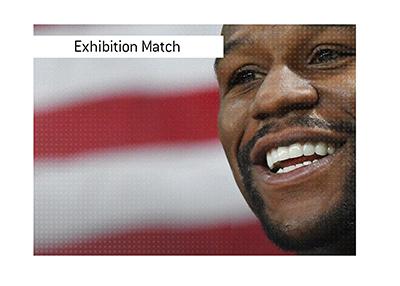Floyd Mayweather next money fight - Exhibition match vs. Logan Paul.