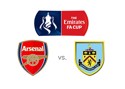 Emirates sponsored FA Cup matchup between Arsenal and Burnley - Who is the favourite to win?