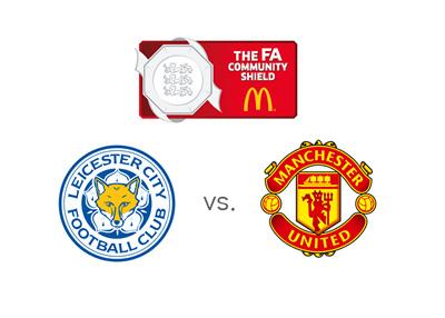 FA Community Shield 2016 - Leicester City vs. Manchester United