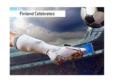 Finland has qualified for Euro 2020, their first major tournament. The nation celebrates.