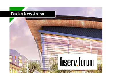 Milwaukee Bucks new arena is called Fiserv Forum - To be completed in August 2018 - Good luck in the new season Bucks!