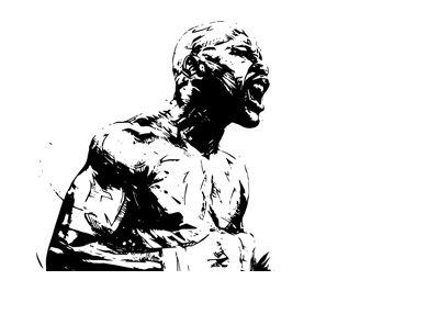 Floyd Mayweather - Drawing - After the fight - Victorioius.