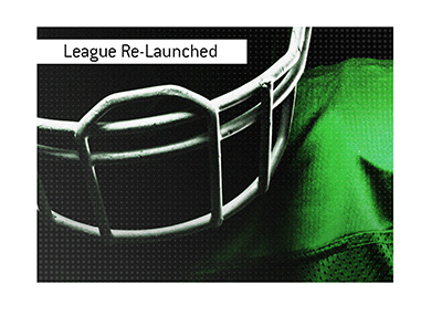 An alternative American Football league is relaunched and off to a promising start.