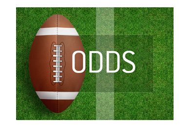 American football Odds - Image representation.