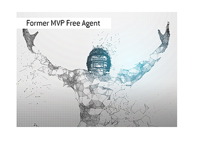 The 2015 MVP has been released and is now a free agent.
