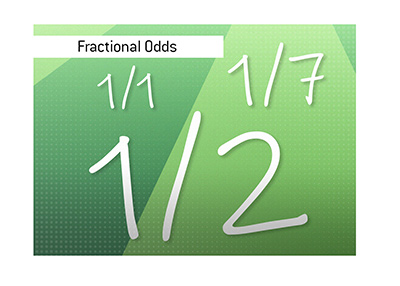 A look at fractional odds and how they are calculated when it comes to sports betting.