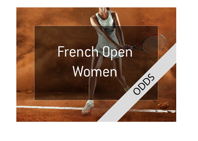 French Open 2018 - Womens - Odds to win - Simona Halep is the favourite.