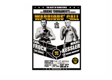 Carl The Cobra Froch vs. Mikkel The Viking Warrior Kessler - Event Poster - May 25th, 2013
