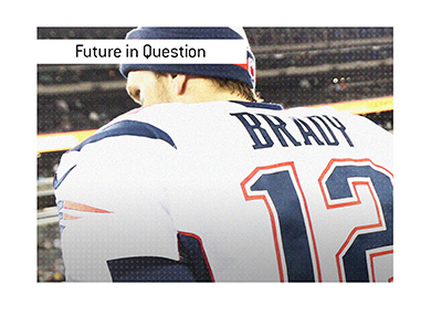 The future is in question for one of the most iconic football players of all time, Tom Brady.