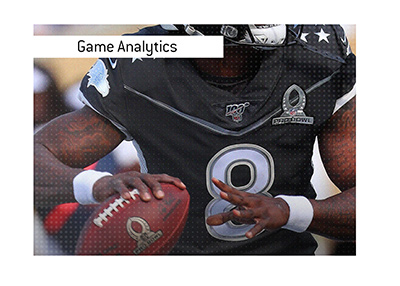 Game analytics are an increasingly more important part of the American football game.