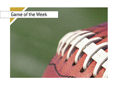 The Big NFL gamne this week is...  Bet on it!