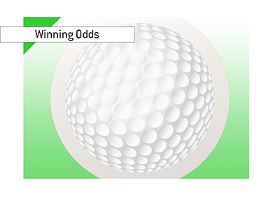 Winning odds for the upcoming British Masters golf tournament.  Year is 2018.