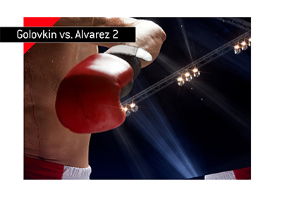 The upcoming boxing match Golovkin vs. Alvarez 2 is coming up this weekend. September 2018.