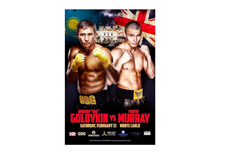 Golovkin vs.Murray - Event Poster - February 21st, 2015 - Boxing