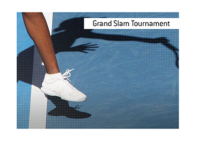 The first of the tennis grand slam tournaments takes place in Melbourne, Australia.  Consider betting on it, while exercising financial prudence.