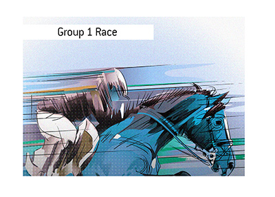 Group 1 horse race is taking place in Paris, France.  Bet on it!