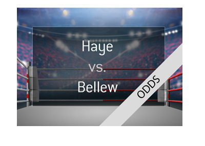 Boxing match odds - David Haye vs. Tony Bellew - Rematch - 2018 - Bet on it!