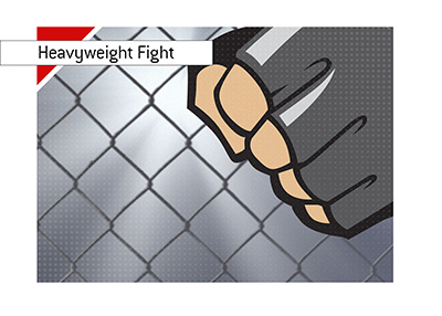Heavyweight MMA fight featuring former champion is next in line.