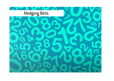 Hedging bets is a common practice in sports wagering.