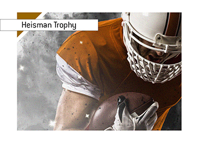 The odds to win the Heisman Trophy. College Football.