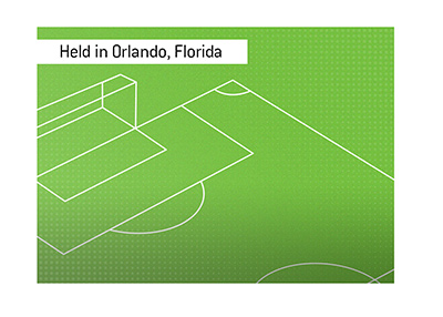 This years American soccer league tournament will be held in Orlando.  One location.