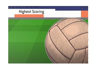 Vintage Euro soccer - Highest scoring European Tournament match.