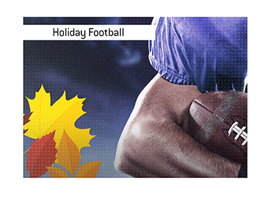 The Thanksgiving Day football in America is a big deal.