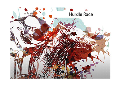 A popular hurdle horse race that takes place shortly after Christmas of every year.  Illustration.  Bet on it, while exercising caution.