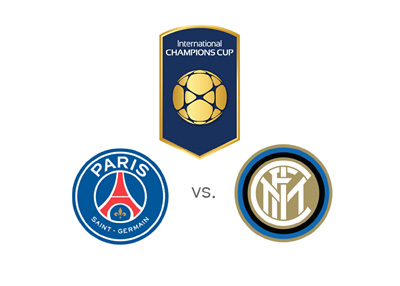 The International Champions Cup - ICC 2016 - Paris Saint Germain vs. Inter Milan