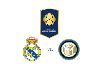 The International Champions Cup 2015 - Real Madrid vs. Inter - Matchup, odds and preview - Team logos