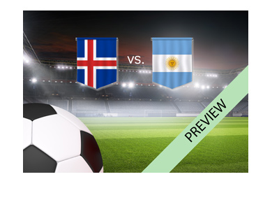 The World Cup 2018 matchup - Iceland vs. Argentina - Preview - Moscow.
