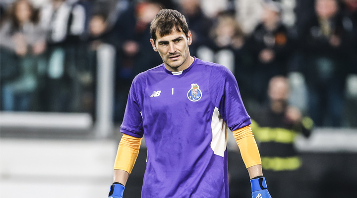 Porto FC goalkeeper Iker Casillas. Tough day at the office.
