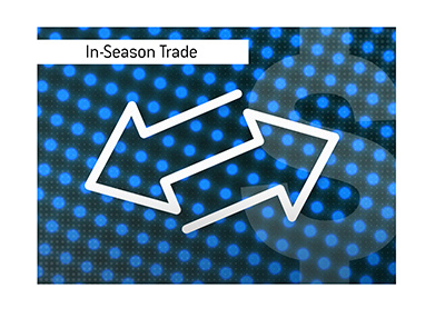 The biggest NFL in-season trade of all time happened when...