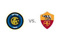 Matchup - Serie A - Inter Milan vs. AS Roma - Team logos