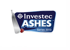 Ashes 2013 Logo - Sponsored by Investec