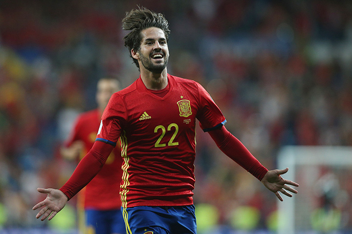 Spain will be looking to Isco and his magic in their quest for the 2018 World Cup in Russia.
