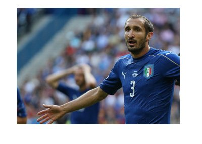 Italy misses on the World Cup.  Chiellini and teammates in shock.