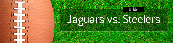 Jacksonville Jaguars vs.<br /> Pittsburgh Steelers - NFL matchup - American football - Odds to win.